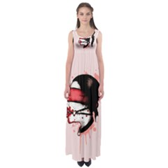 Cardio Masochist  Empire Waist Maxi Dress