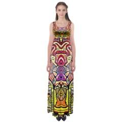 Reflection Empire Waist Maxi Dress