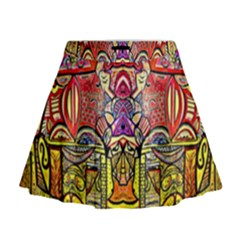 Reflection Mini Flare Skirt