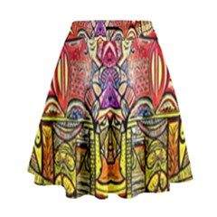 Reflection High Waist Skirt