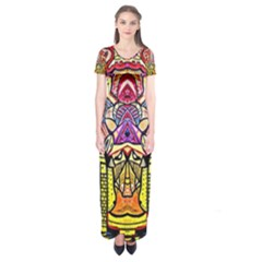 Reflection Short Sleeve Maxi Dress