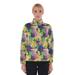Tropical Flowers And Leaves Background Winterwear