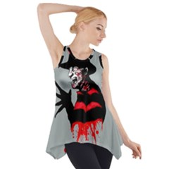 The Groundskeeper Side Drop Tank Tunic