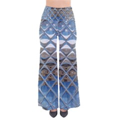 Mirrored Glass Tile Urban Industrial Pants