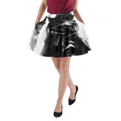 Assassins Creed Black Flag Tshirt A-Line Pocket Skirt