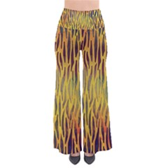 Colored Tiger Texture Background Pants