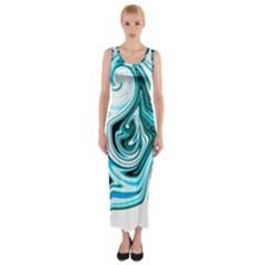 L605 Fitted Maxi Dress