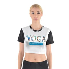 Yoga Cotton Crop Top