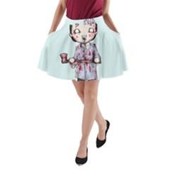 Plushie Bateman A Line Pocket Skirt