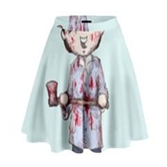 Plushie Bateman High Waist Skirt