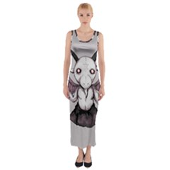 Plushie Baphomet Fitted Maxi Dress