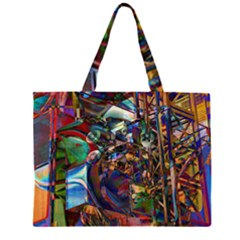 Las Vegas Nevada Ghosts Large Tote Bag