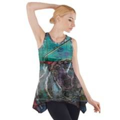 Vegas The Deep End  Side Drop Tank Tunic