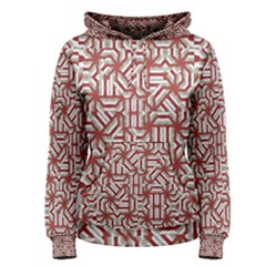 Interlace Tribal Print Women s Pullover Hoodie