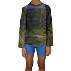 The Plight Kid s Long Sleeve Swimwear by Jocelyn Apple/Appleartcom