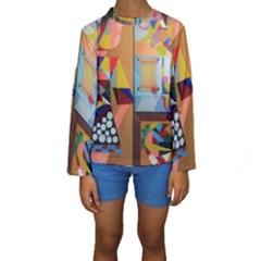 Pablo Kid s Long Sleeve Swimwear By Jocelyn Apple/appleartcom