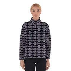 Black White Tiki Pattern Winterwear
