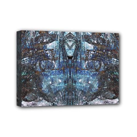 Lost In The Mirror  Mini Canvas 7  x 5