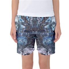 Lost In The Mirror  Women s Basketball Shorts