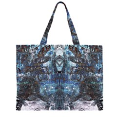 Lost In The Mirror  Large Tote Bag