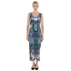 Lost In The Mirror  Fitted Maxi Dress