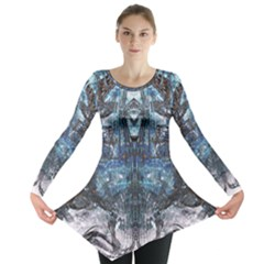Lost In The Mirror  Long Sleeve Tunic