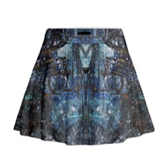 Lost In The Mirror  Mini Flare Skirt