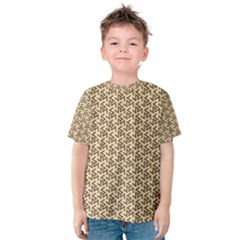 Braided Pattern Kid s Cotton Tee