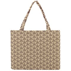 Braided Pattern Mini Tote Bag