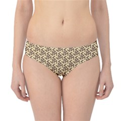Braided Pattern Hipster Bikini Bottoms