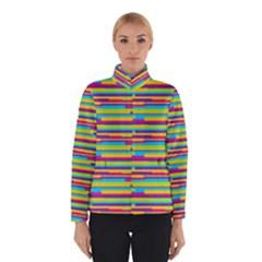 Colorful Stripes Background Winterwear