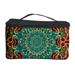 The Wooden Heart Mandala,giving Calm Cosmetic Storage Cases
