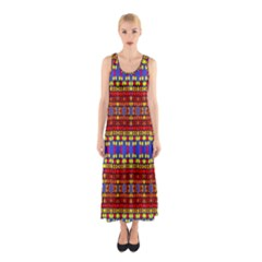 Egypt Star Sleeveless Maxi Dress