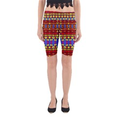 Egypt Star Yoga Cropped Leggings