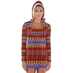 Egypt Star Women s Long Sleeve Hooded T-shirt