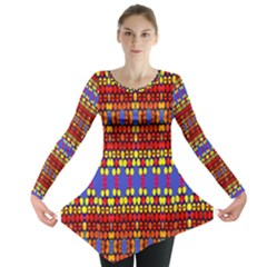 Egypt Star Long Sleeve Tunic
