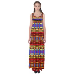Egypt Star Empire Waist Maxi Dress