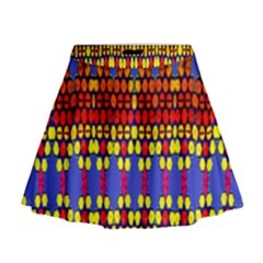 Egypt Star Mini Flare Skirt