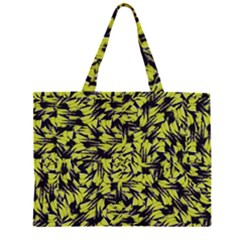 Modern Abstract Interlace Large Tote Bag