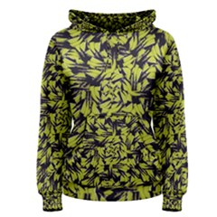 Modern Abstract Interlace Women s Pullover Hoodie