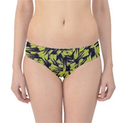 Modern Abstract Interlace Hipster Bikini Bottoms