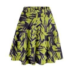 Modern Abstract Interlace High Waist Skirt