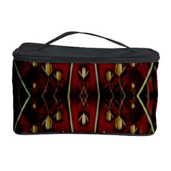 Fantasy Flowers And Leather In A World Of Harmony Cosmetic Storage Cases