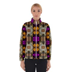 Contemplative Floral And Pearls  Winterwear
