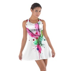 Hummingbird Skeleton Racerback Dresses