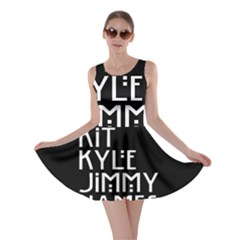 American Horror Names Skater Dress