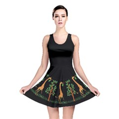 Giraffe Dress Reversible Skater Dress