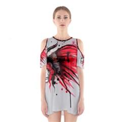 Savages Cutout Shoulder Dress