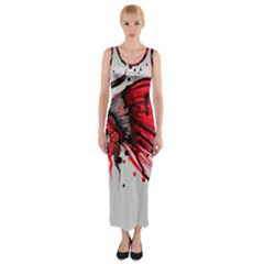 Savages Fitted Maxi Dress