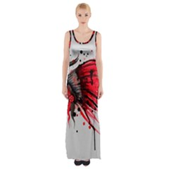Savages Maxi Thigh Split Dress